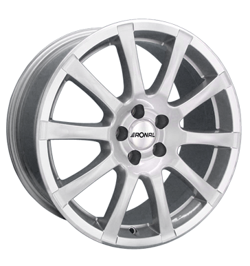 tire - 7.5x16 5x120 ET40 Ronal R38 silber silber hornkopiert Sealants and adhesives Rims / Alu Light truck summer from 17.5