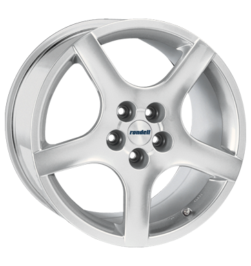 tire - 6.5x16 5x110 ET42 Rondell 0029 silber silber lackiert Aluminium rims Rims / Alu Overalls / Combinations Hand tools steel rim
