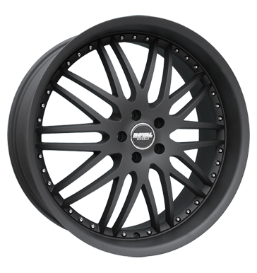 tire - 9.5x22 5x120 ET45 Royal Wheels Royal GT schwarz schwarz matt Steering and axle suspension Rims / Alu Oil filter Non-freeze liquid paripakv vaahan