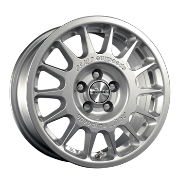 tire - 7x15 5x108 ET35 Speedline Corse 2118SC silber silber lackiert Suspension + damping Rims / Alu FOSAB Lighting wheel