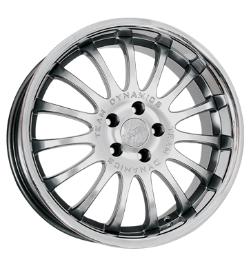tire - 9x18 5x114.3 ET25 Team Dynamics Equinox silber hi-power-silver + Edelstahlb. Cooling - Climate Rims / Alu Rims / Alu Crossover networks tire