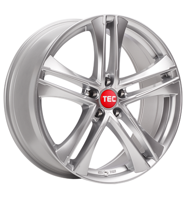 tire - 8x19 5x108 ET45 TEC Speedwheels AS4 Evo silber hyper-silber Hardtops Rims / Alu Trike-parts Chip tuning + Motor tuning tire