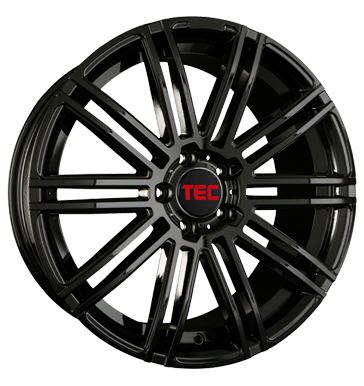 tire - 8.5x19 5x114.3 ET40 TEC Speedwheels AS3 schwarz glossy black ETA BETA Rims / Alu Magma Vehicle antennas tyres