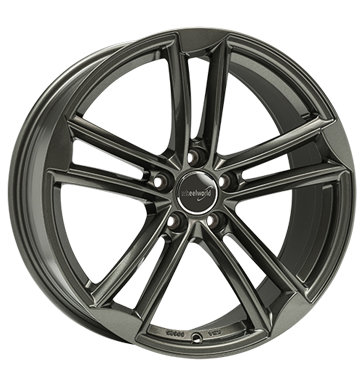 tire - 8.5x19 5x112 ET35 Wheelworld WH27 grau / anthrazit dark gunmetal lackiert Entry sills Rims / Alu Ronal PONGRATZ car