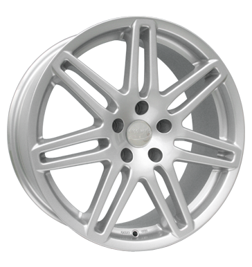 tire - 8x19 5x112 ET47 Wheelworld WH1 silber metallic silber G-WHEEL Rims / Alu High quality dampers Car care + Maintenance wheels