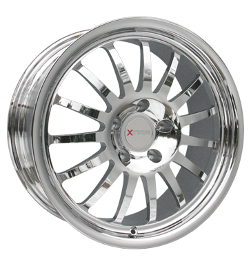 tire - 8.5x18 4x100 ET35 Xtra Ariane chrom chrom Test category 2 Rims / Alu Tyre Discover now! utilities